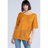 Monnari Ażurowy sweter z wzorem 20L-SWE0630-K017