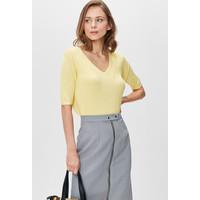 Monnari Elegancki sweter w serek FEM-20W-BLS65124-K11X