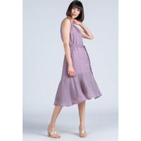 Monnari Zwiewna sukienka z falbaną 20L-DRE1380-K014