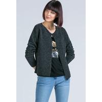 Monnari Prążkowany, połyskujący sweter 20L-QNS0770-K020