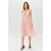 Monnari Romantyczna sukienka z plisowanym dołem FEM-20W-DRW65889-K03X
