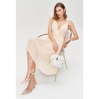 Monnari Romantyczna sukienka z plisowanym dołem FEM-20W-DRW65889-K02X