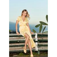 Monnari Asymetryczna sukienka z paskiem 20W-DRE1730-K002