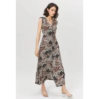 Monnari Wzorzysta sukienka maxi FEM-63959-08X