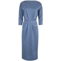 Monnari Prosta wizytowa sukienka z wiązaniem FEM-64426-95X