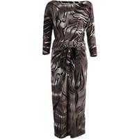 Monnari Wzorzysta, cieniowana sukienka FEM-19J-DRK65884-KMLC