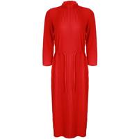 Monnari Prążkowana sukienka z paskiem FEM-19J-DRK64623-K33X