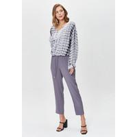 Monnari Luźne spodnie z wiązanymi troczkami FEM-20W-TRS65364-K90X