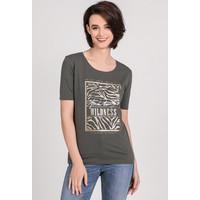 Monnari T-shirt z napisem 'wildness' 20W-TSH0020-K008