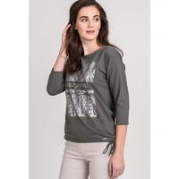 Monnari Basicowa bluzka z printem 20W-TSH0140-K008