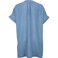 ONLY Carmakoma Sukienka 'CARFIEKE LIFE SS DENIM TUNIC DRESS' ONC0474001000002