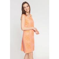 Quiosque Morelowa prosta sukienka z kwiatowym haftem 4JY008410