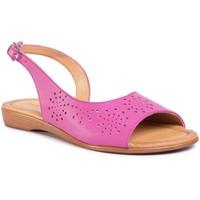Sandały Lasocki TTT-1808-08 Różowy ciemny