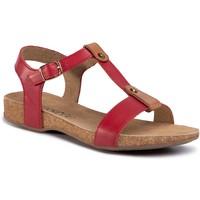 Sandały Lasocki RST-141-16 Czerwony