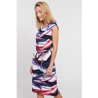 Quiosque Sukienka za kolana z dekoltem woda 4JI006852