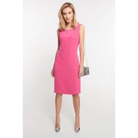 Quiosque Różowa dopasowana sukienka bez rękawów 4JW020501