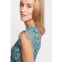 Quiosque Sukienka z zieloną kwiatową koronką 4JE012943