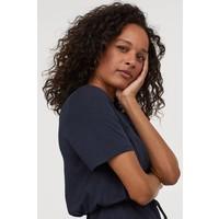 H&M MAMA Sukienka dla karmiącej 0865131001 Ciemnoniebieski
