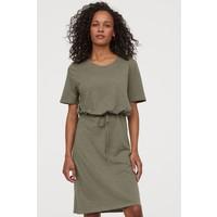 H&M MAMA Sukienka dla karmiącej 0865131001 Zieleń khaki