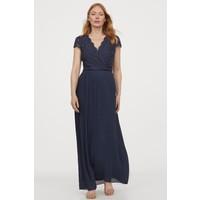 H&M MAMA Sukienka dla karmiącej 0864885001 Granatowy