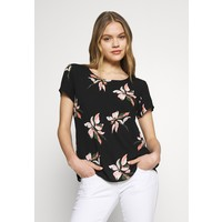 ONLY ONLCARRIE TOP Bluzka black/nature ON321E1SM