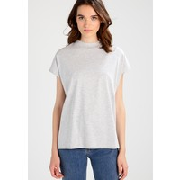 Weekday PRIME T-shirt basic grey melange WEB21D006