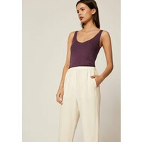 OYSHO Top dark purple OY121D01N