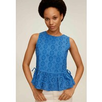 Mango JANA Top bleu M9121E3CT