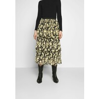 Topshop DAISY TIERED PLEAT Spódnica trapezowa multi-coloured TP721B0JM