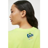 H&M T-shirt z motywem 0792499014 Jasnożółty/Fanta