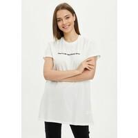 DeFacto T-shirt z nadrukiem ecru DEZ21D07P