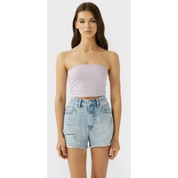 Stradivarius 02544934 Top purple STH21D0FD