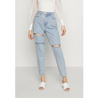 Topshop SOFIA RIP MOM Jeansy Relaxed Fit super bleach TP721N0FG