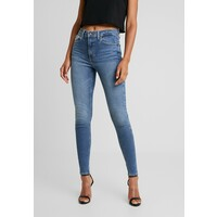 Topshop JAMIE Jeansy Skinny Fit blue denim TP721N0EY
