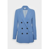 Topshop TWILL DOUBLE BREASTED SUIT JACKET Żakiet blue TP721G0NC