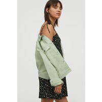 H&M Wzorzysta sukienka z dżerseju 0811333001 Czarny/Kwiaty