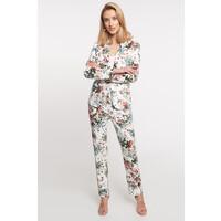 Quiosque Białe kwiatowe spodnie 3JX003110