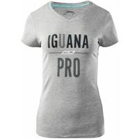 Damska koszulka LAREN 6994-LT GREY MEL IGUANA
