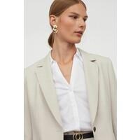 H&M Koszula z popeliny 0889456001 Biały