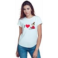 Tailormade24 koszulka damska CODZIENNIE BUDZĘ SIĘ PIĘKNIEJSZA
