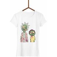 FailFake Koszulka Rick i Morty Zombie Damska