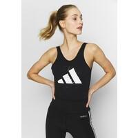 adidas Performance GRAPH LEOTARD Trykot gimnastyczny black AD541K030