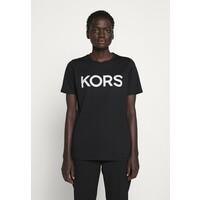 MICHAEL Michael Kors T-shirt z nadrukiem black/silver MK121D03Y