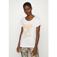 Mos Mosh ABIGAIL TEE T-shirt z nadrukiem ecru MX921D019