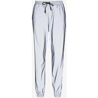 Noisy May NMRANDY REFLEX PANT Spodnie materiałowe silver NM321A088