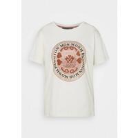 Mos Mosh LEAH TEE T-shirt z nadrukiem ecru MX921D01A