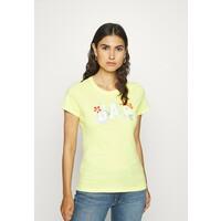 GAP FRANCHISE FLORAL TEE T-shirt z nadrukiem clear yellow GP021D0IM