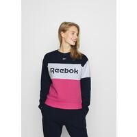 Reebok LINEAR LOGO CREW Dres dark blue RE541K016