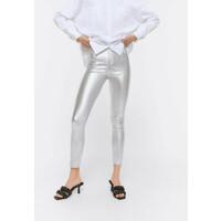 Uterqüe Spodnie materiałowe silver UT421A045