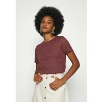 Vero Moda T-shirt z nadrukiem rose brown VE121D11N